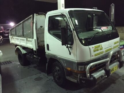 Mitsubishi Canter 2000 mode Tipper truck 3.5L 6.3T GVM Like Delta Sydney City Inner Sydney Preview