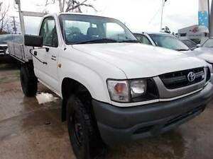 2003 Toyota Hilux  Manual Ute