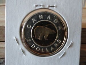 1997 Canada Sterling Silver Toonie $2 Two Dollar Coin GP