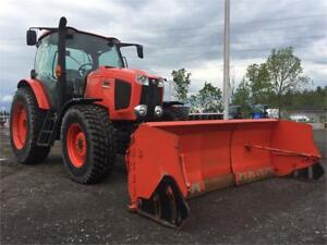 KUBOTA M135GX WITH 8-13 BLADE NO REASONABLE OFFER REFUSED