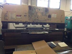 88 TON X 10 FT.  PROMECAM UPSTROKE HYDRAULIC PRESS BRAKE,, C/W HURCO 7 CNC BA. GA.