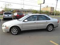 2006 VOLVO S80 AWD  AUTO LEATHER SUNROOF LOADED