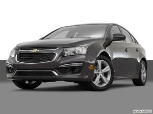 2016 Chevrolet Cruze LT Sedan (Turbo 6-Speed Auto, RS Package)
