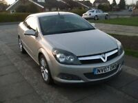 2007 VAUXHALL ASTRA 1.9 CDTI TWINTOP CABRIOLET SILVER
