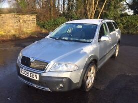 2008 Skoda Octavia Scout Four Wheel Drive 4WD Full Service History 2 Owner PX...