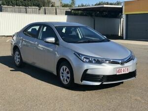 2019 Toyota Corolla ZRE172R Ascent S-CVT Silver 7 Speed Constant Variable Sedan Chermside Brisbane North East Preview