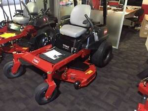 TORO TITAN ZX4800 ZERO TURN RIDE ON LAWN MOWER, BRAND NEW Dural Hornsby Area Preview