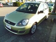 2006 Ford Fiesta WQ LX Green 4 Speed Automatic Hatchback Heatherton Kingston Area Preview