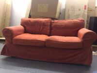 Large 2 Seater Sofa ex show home very good condition