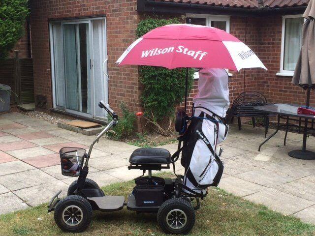 motocaddy umbrella holder instructions