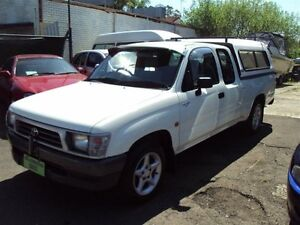 2001 Toyota Hilux RZN154R White 4 Speed Automatic Punchbowl Canterbury Area Preview