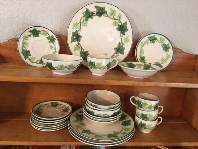 Franciscan Ivy China Dinnerware 4 Piece Place Setting Made In America/Cal