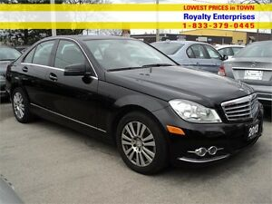 2013 Mercedes-Benz C-Class C250 LEATHER SUN ROOF