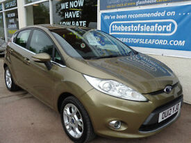 Ford Fiesta 1.25 ( 82ps ) 2012 Zetec very low miles 25k S/H Finance Available