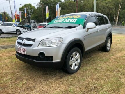2007 Holden Captiva CG MY08 SX (4x4) Silver 5 Speed Automatic Wagon Clontarf Redcliffe Area Preview