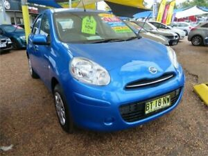 2013 Nissan Micra K13 MY13 ST Blue 4 Speed Automatic Hatchback Minchinbury Blacktown Area Preview