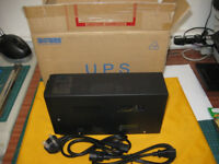 Uninterruptable UPS power supply for computers and other IT equipment
