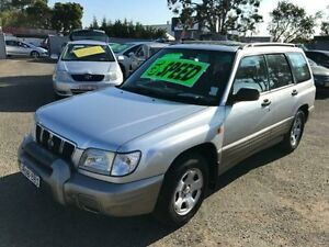 2001 Subaru Forester GX Silver Manual Wagon Lansvale Liverpool Area Preview
