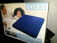 Brand new, unopened Intex Double Airbed