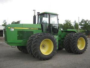 1989 John Deere 8760 Tractor Cambridge Kitchener Area image 1