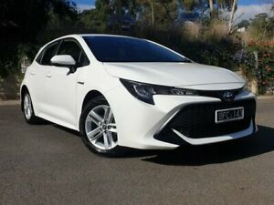2019 Toyota Corolla ZWE211R Ascent Sport E-CVT Hybrid White 10 Speed Constant Variable Hatchback Lilydale Yarra Ranges Preview