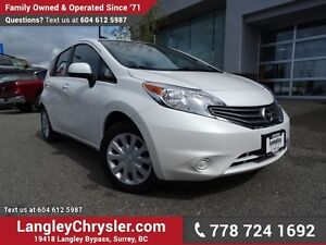 2014 Nissan Versa Note 1.6 S W/ POWER WINDOWS/LOCKS & REAR-VI...