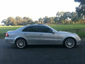 2003 Mercedes-Benz E240 W211 Elegance Silver Semi Auto Sedan Surfers Paradise Gold Coast City Preview