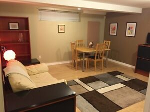 2 Bedroom Basement - Furnished