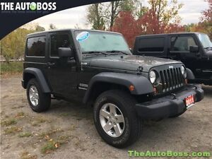 2011 Jeep Wrangler Sport CERTIFIED! LOW KM'S! WARRANTY! 4X4!