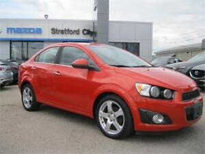 2012 Chevrolet Sonic LTZ LEATHER!  MANUAL TRANSMISSION!