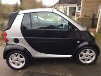 Smart Car Convertible - Very Low Mileage