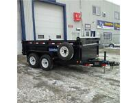 Load Trail DT122 7' X 12' Tandem Axle Dump Trailer
