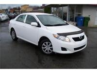 2010 Toyota Corolla CE  AIR CLIMATISEE !!