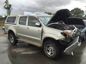 Wrecking - Toyota Hilux 11/2007 Dual Cab 4x4 T/Dsl Auto Werribee Wyndham Area Preview