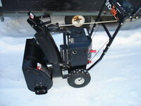 "Barely Used Ariens Sno-Tek 20"" 2 Stage Snowblower"