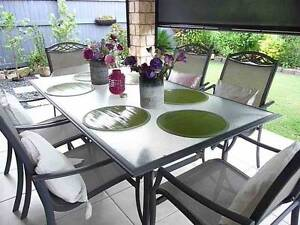 Outdoor Dining Setting 7 piece North Lakes Pine Rivers Area Preview