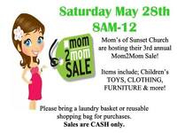 Mom2Mom Sale at Sunset Church (Yard Sale)