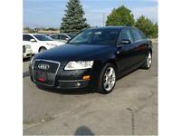 2007 Audi A6 Quattro 3.2L, BLACK ON BLACK, PRICED TO SELL!!!