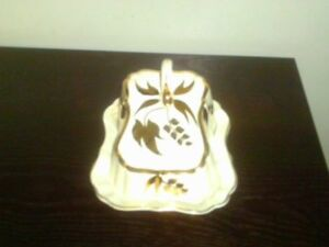 Vintage Sandland Ware Butter or Cheese Dish