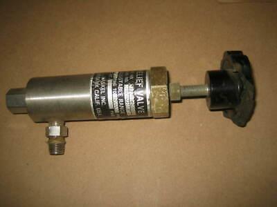 Haskel 27741-2 Hydraulic Relief Valve