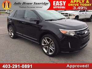 2013 FORD EDGE NAVIGATION BACKUP CAMERA 90 DAYS NO PAYMENT