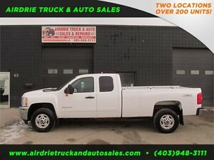 2012 Chevrolet Silverado 2500HD VMAC 4x4 8FT EXT BOX