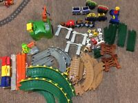 Fisher Price Geotrax Lot - include 4 sets