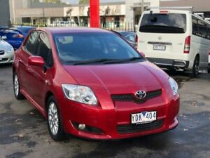 2009 Toyota Corolla ZRE152R MY09 Edge Red 4 Speed Automatic Hatchback Burwood Whitehorse Area Preview