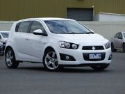 2015 Holden Barina TM MY15 CDX White 6 Speed Automatic Hatchback Diggers Rest Melton Area Preview