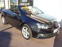Volkswagen Eos 2.0TD Cabriolet Tech DSG 2011 SE BlueMotion Full S/H