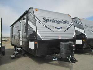 2017 SPRINGDALE 282BHWE TRAVEL TRAILER BY KEYSTONE RV