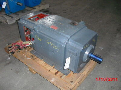100 HP DC Reliance Electric Motor, 1000 RPM, BB3610ATZ Frame, DPFV, 240 V