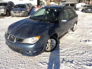 Subaru Imprezza Wagaon AWD auto sunroof heated seats runs great