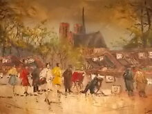 Old Genuine 'Signed' Oil Painting Armidale Armidale City Preview